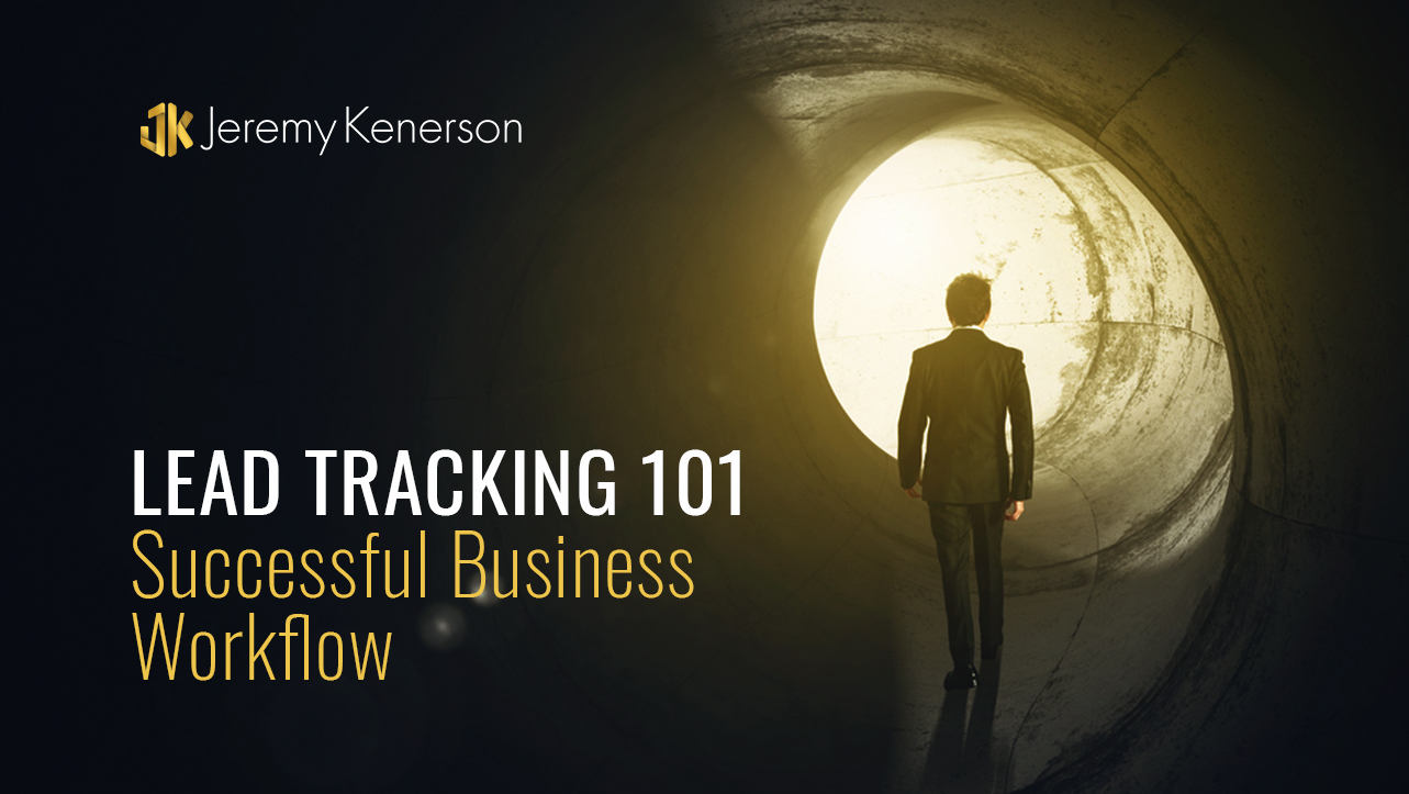 Business man walking towards light at end of tunnel thinking about Lead Tracking 101 for Successful Business Workflow