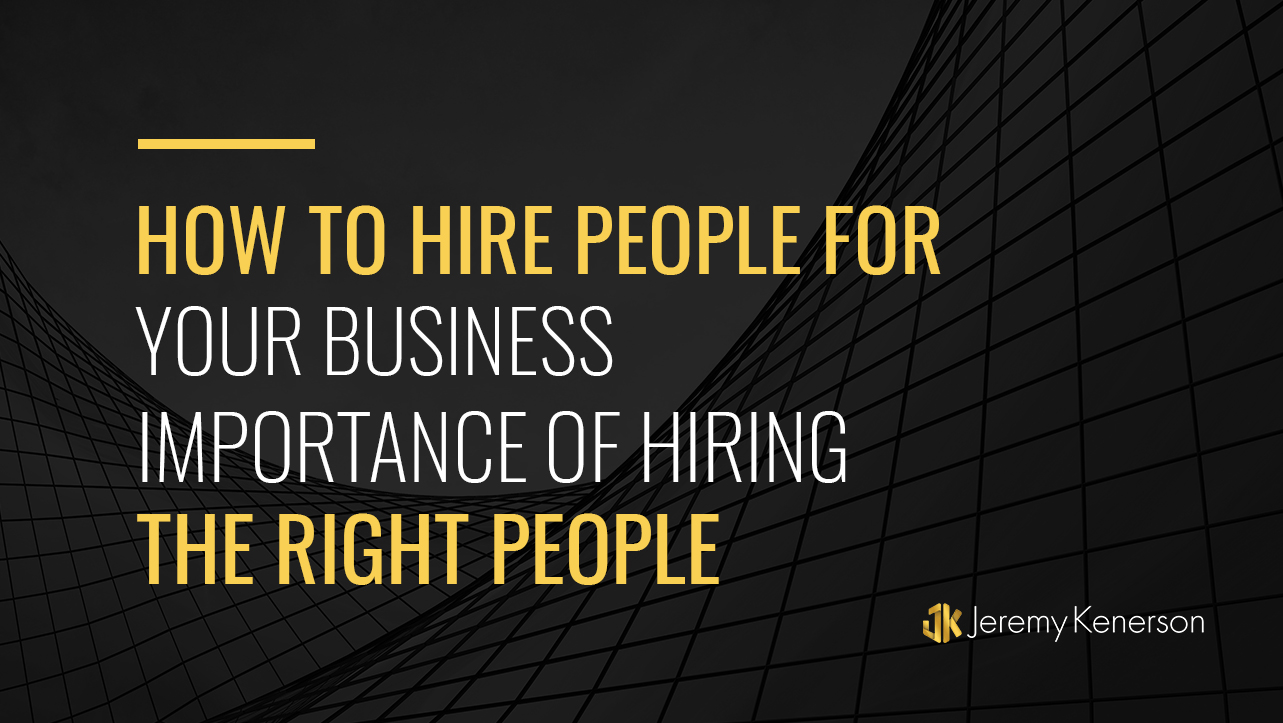 Tall buildings with How to Hire People for Your Business Importance of Hiring the Right People in the Center.